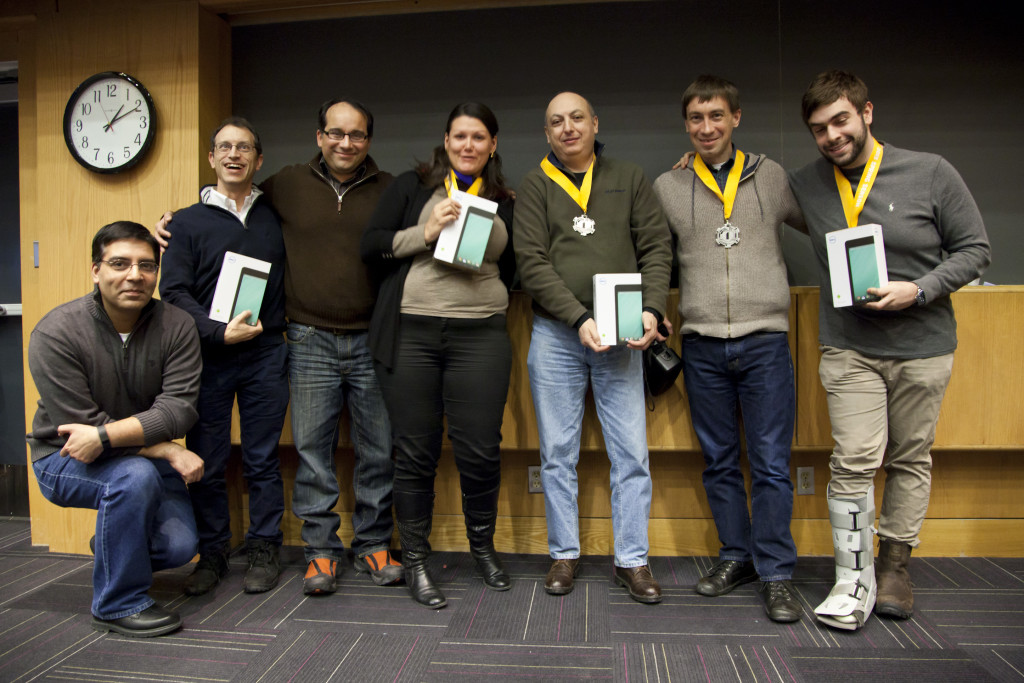 On the Winning Team at Tufts MedStart Medical Hackathon