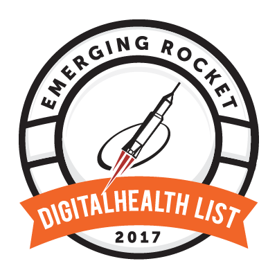 Conquer Mobile Selected to 2017 Emerging Rocket Digital Health List Logo